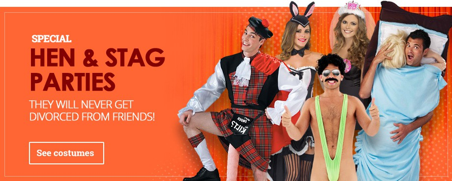 Hen & Stag Party Costumes