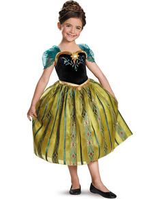 Deluxe Anna Frozen Coronation Child Costume