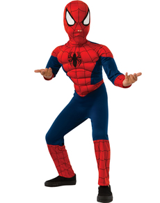 Ultimate Spiderman deluxe costume for a child
