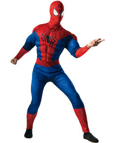 The Amazing Spiderman 2 deluxe Spiderman costume for a man