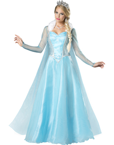 Womens Snow Princess Costume