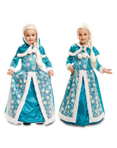 Girl's Glacial Ice Queen Costume