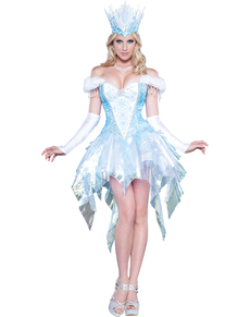 Women's Suggestive Ice Queen Costume